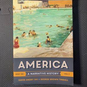 America- A Narrative History Vol 2